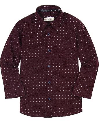 bdb05850c Amazon.com: Deux par Deux Boys' Dress Shirt Suit up, Sizes 2-12 ...