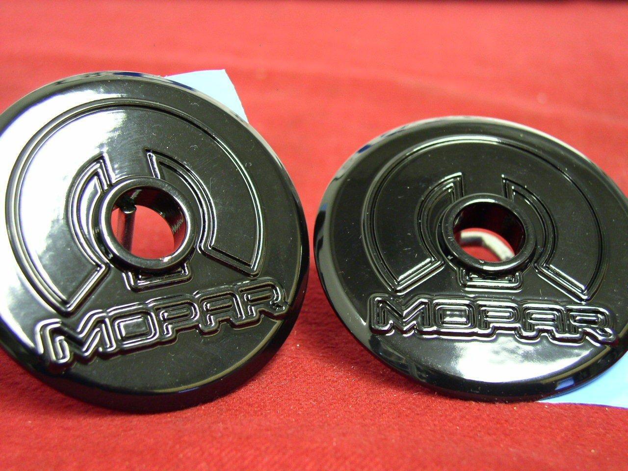 Dodge Challenger black race hood down catch pin lock out quick cable kit Mopar