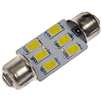 Dorman 211W-HP White LED Dome Light Bulb, (Pack of 1): Automotive
