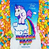 Unicorn Poop Candy (Pastel Jelly Beans) - Funny Easter Candy - Unique Gag Birthday Gift (1 Pack)