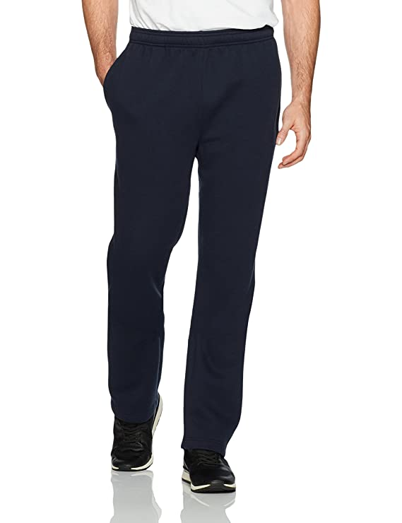 Amazon Essentials Men's Fleece Sweatpants, Navy, Large best men's sweatpants