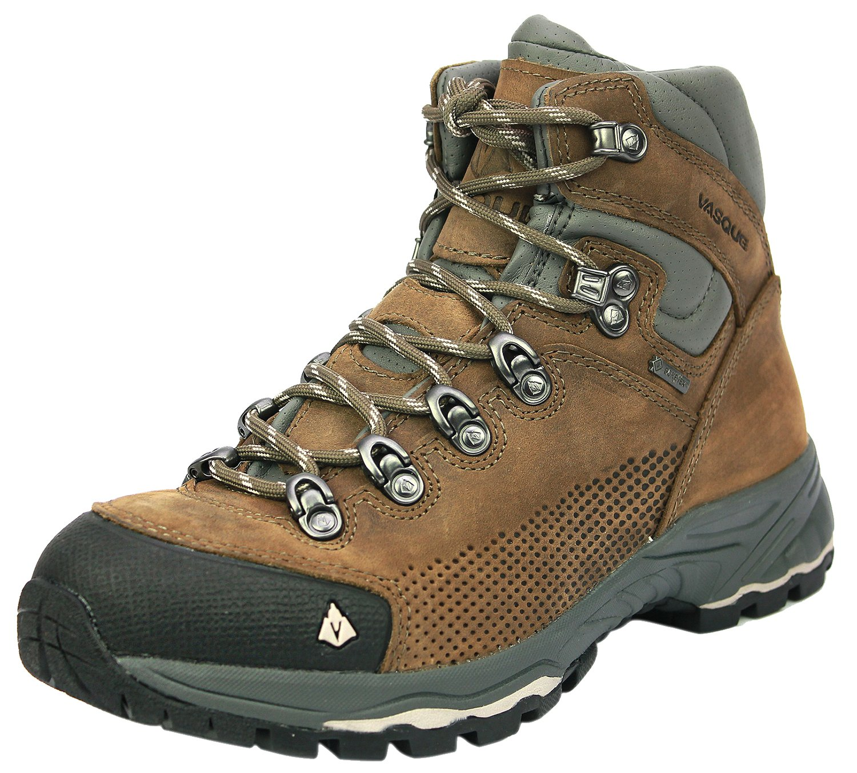 Vasque Women's St. Elias Gore-Tex Hiking Boot, Bungee/Silver,6 M US