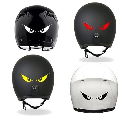 Isee 360 Vinyl Power Eyes Helmet Sticker Pack Of 4