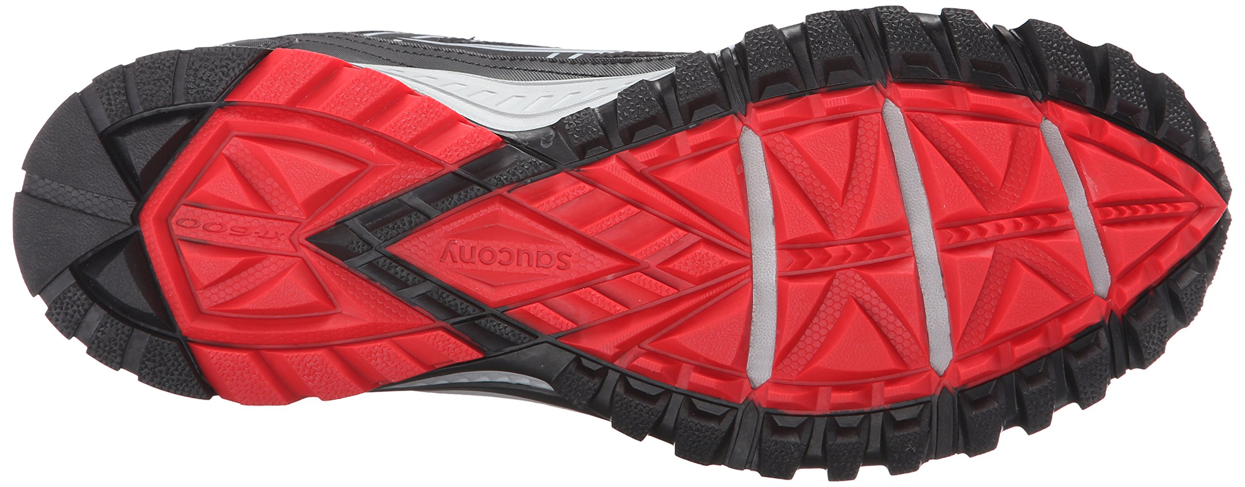 Saucony Men's Grid Excursion TR10 Running Shoe, Grey/Black/Red, 8 M US by Saucony (Image #3)