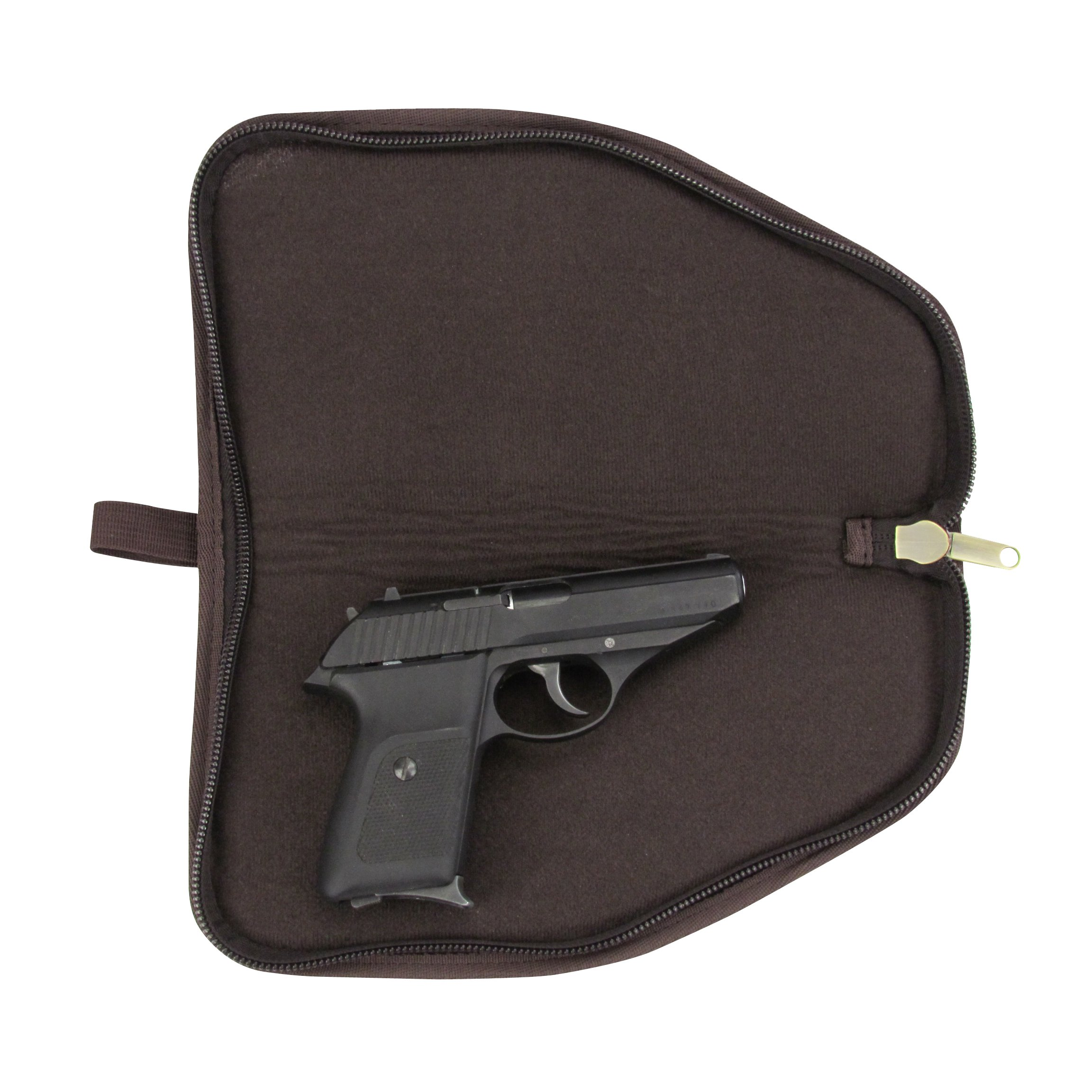 TOURBON Canvas Hand Gun Pouch Pistol Rug with Gun Accessories Pocket by TOURBON (Image #5)