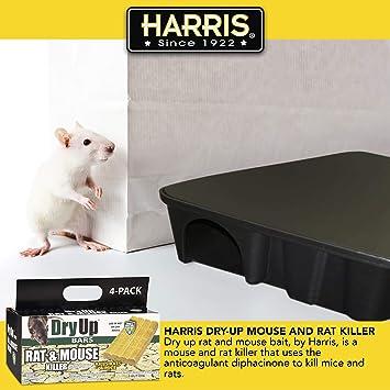 800 grams 1,76lb Rat Poison rats kill killer 4 x 200 gr pellets effective bait