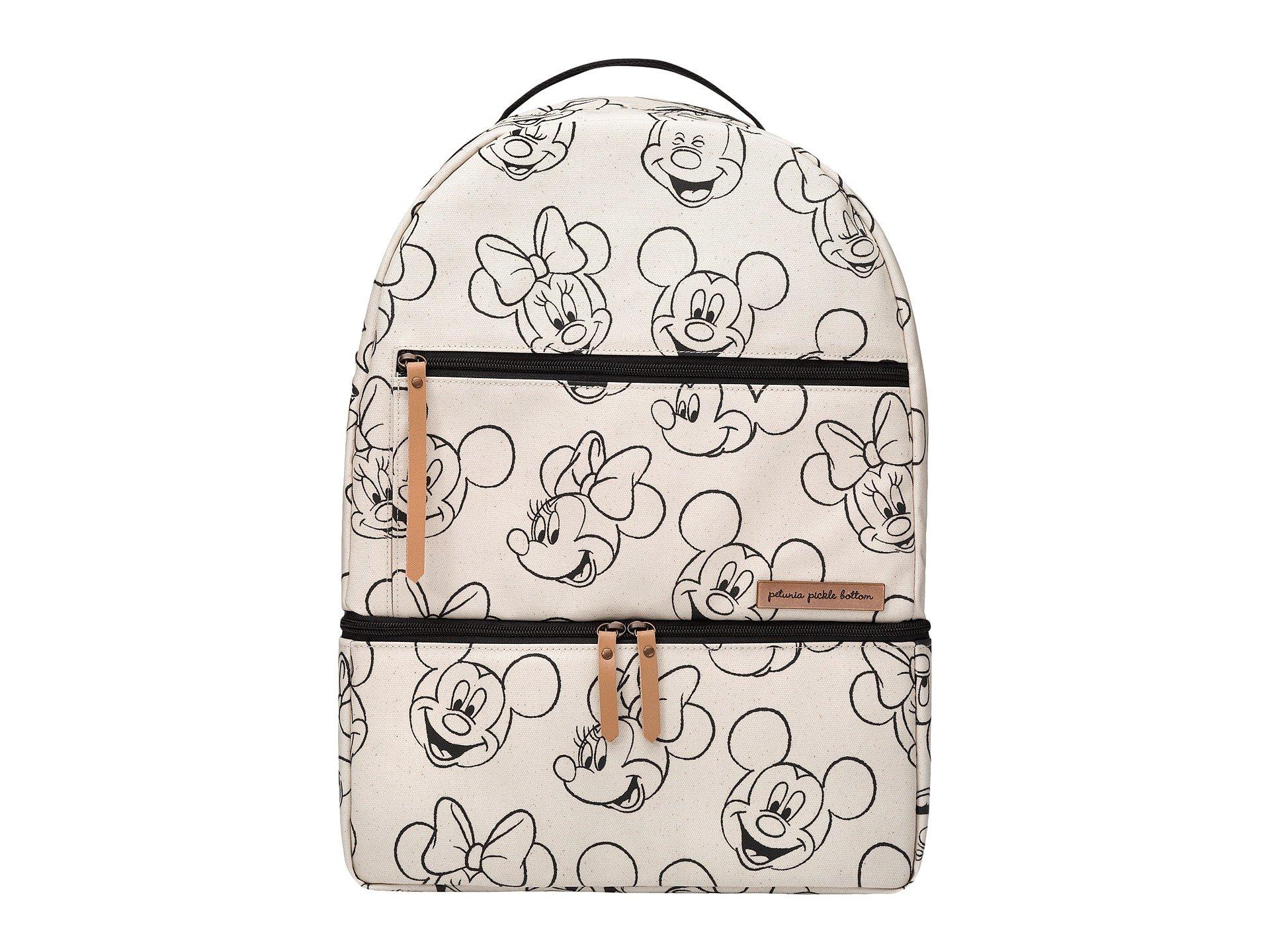 Petunia Pickle Bottom Axis Backpack, Sketchbook Mickey & Minnie