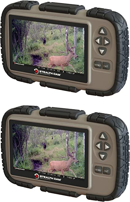 """Stealth Cam SD Card Reader//Viewer with 4.3/"""" LCD Touch Screen"""