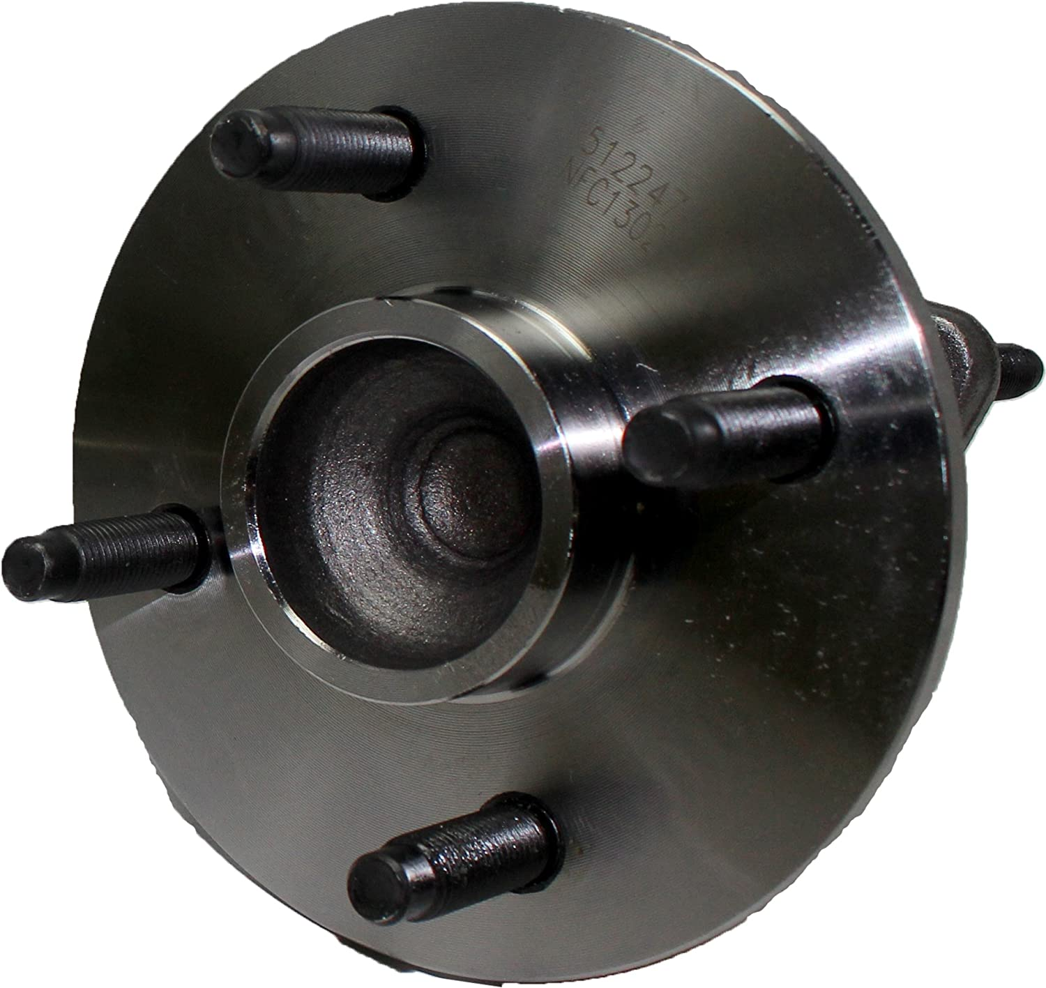 Both Pursuit; Saturn Ion Pair Rear Wheel Hub and Bearing Assembly for Chevy Cobalt; Pontiac G5 1,2,3 4 Lug W//ABS Brand New 512247 x2