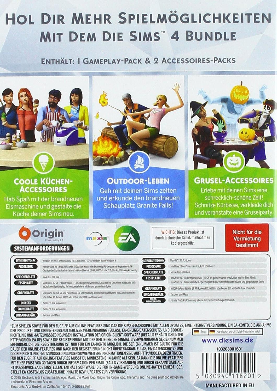 Die Sims 4 - Bundle Pack 2 (Code in der Box) - [PC]: Amazon ...