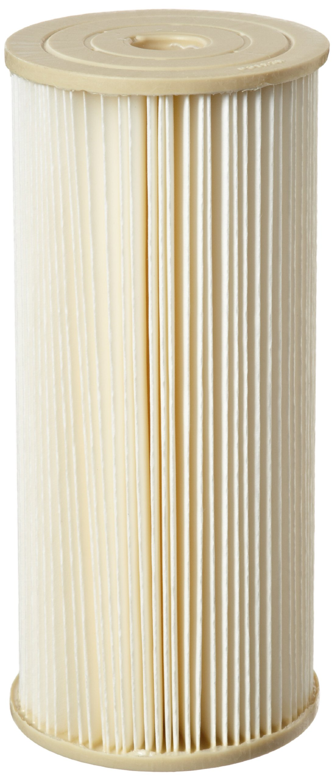 Pentek ECP1-BB Pleated Cellulose Polyester Filter Cartridge, 9-3/4'' x 4-1/2'', 1 Micron
