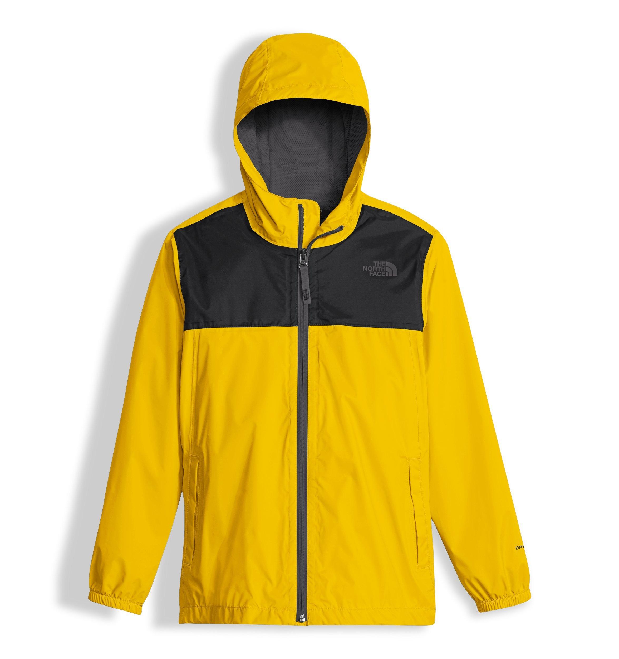 e01f27c42d69 Galleon - The North Face Boy s Zipline Rain Jacket - Canary Yellow - XXS