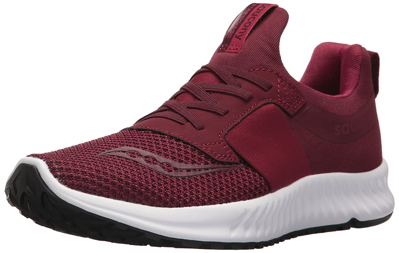 Saucony Women's Stretch N Go Breeze Running Shoe B071G2R13T 10 B(M) US|Burgundy