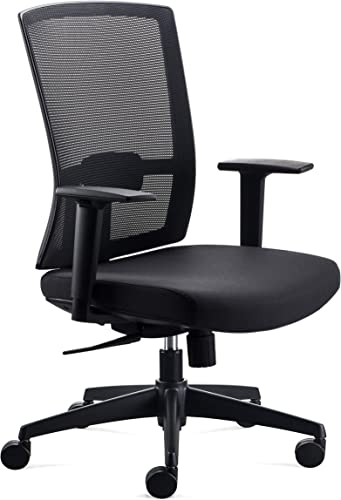 CHAIRLIN Ergonomic Mesh Mid-Back Home Office Computer Task Chair