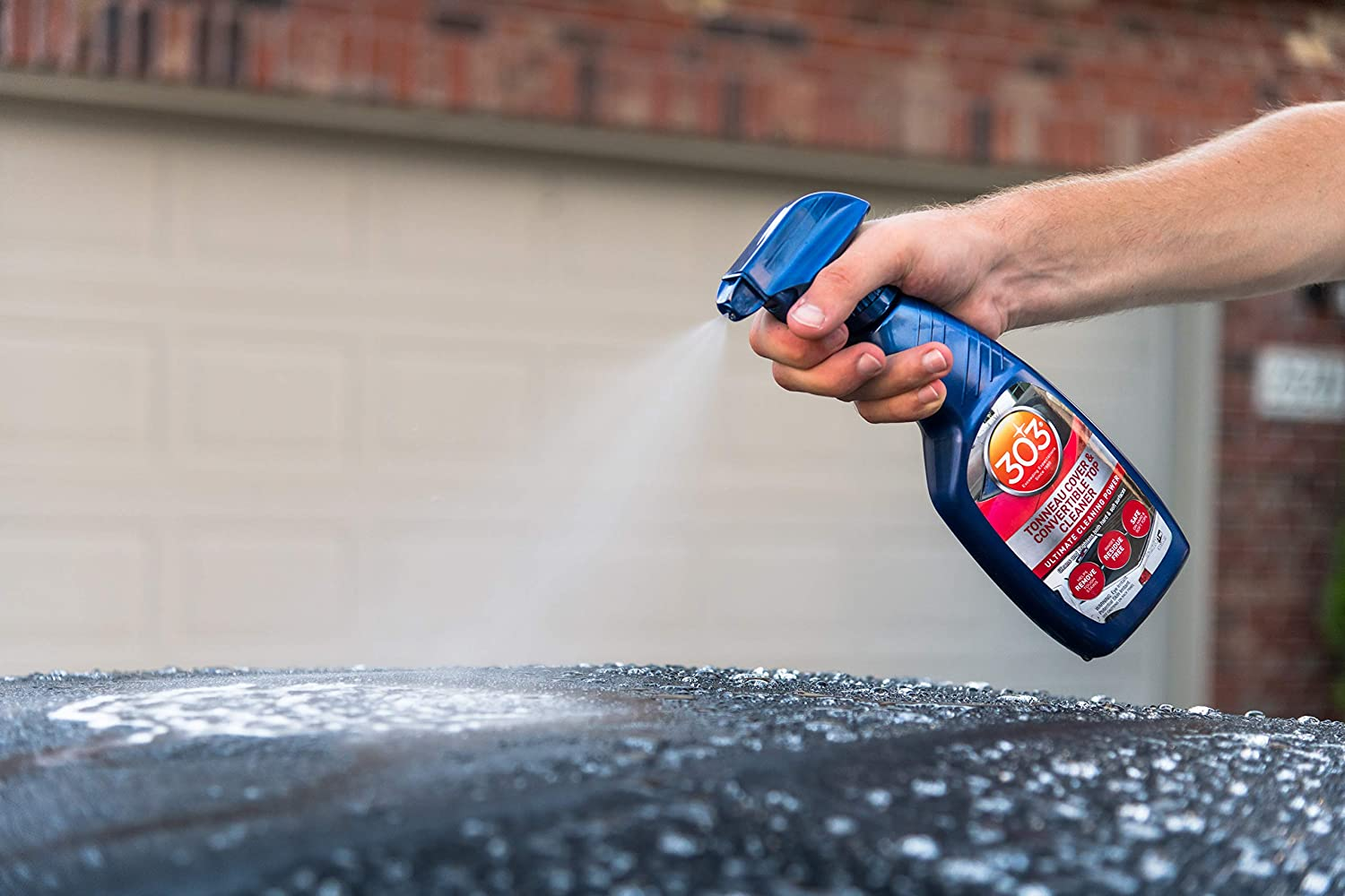 303 Tonneau Cover and Convertible Top Cleaner - Vinyl and Fabric Top Cleaner, 16 fl. oz.