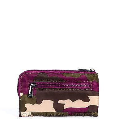 Lug Womens Tram Wallet Flamingo Black Lug Parent Code 6036