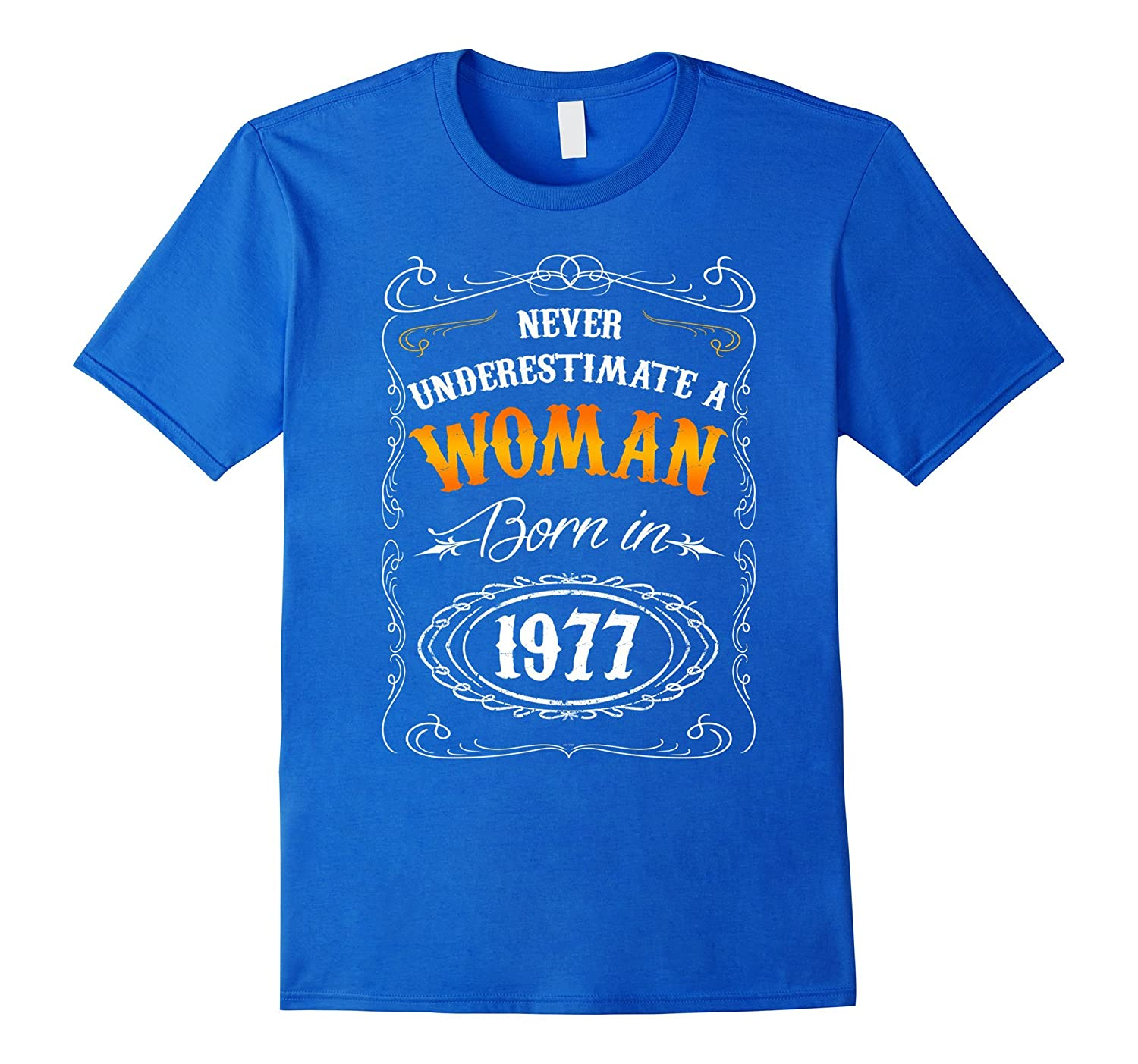 40th 1977 birthday gifts for women mom wife t shirt-Art