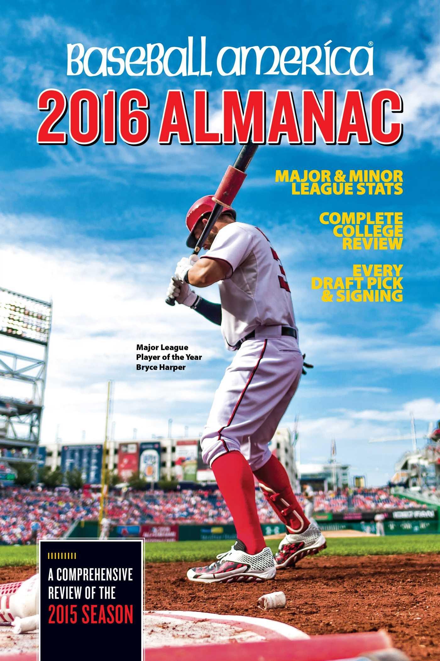 Baseball America 2016 Almanac Comprehensive product image