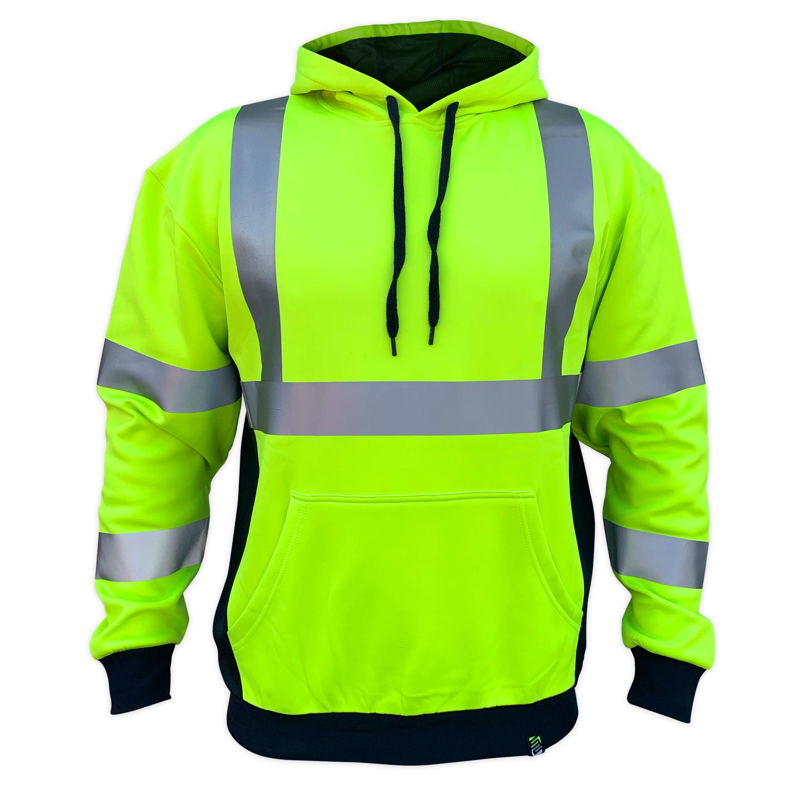 SafetyShirtz SS360 ANSI Class 3 Safety Hoodie Yellow (Safety Green) M by SafetyShirtz