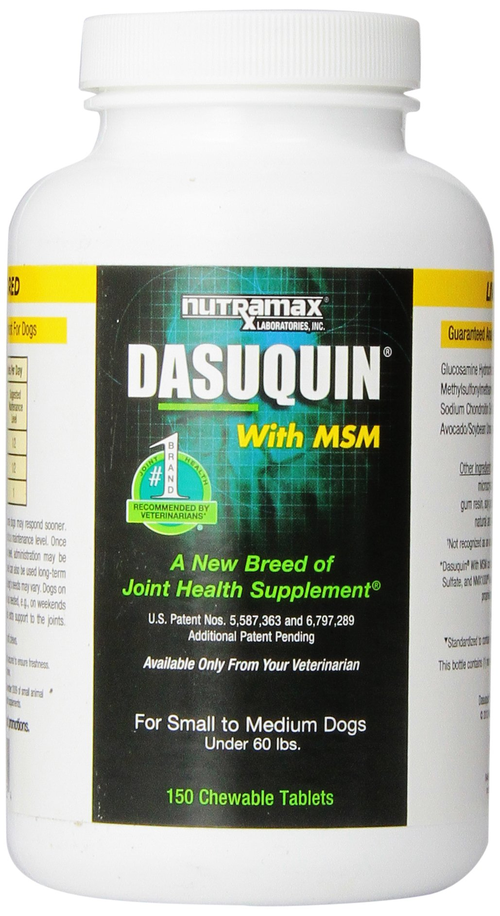 Nutramax Dasuquin with MSM Chewables, Small/Medium Dog, 150 Count by Nutramax Laboratories (Image #1)