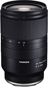 Tamron 28-75mm F/2.8 for Sony Mirrorless Full Frame E Mount (Tamron 6 Year Limited USA Warranty)