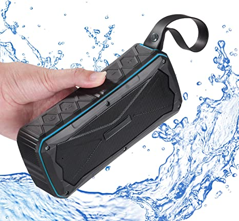 HTMSR Mini Altavoz Bluetooth Portátil Recargable con Micrófono FM ...