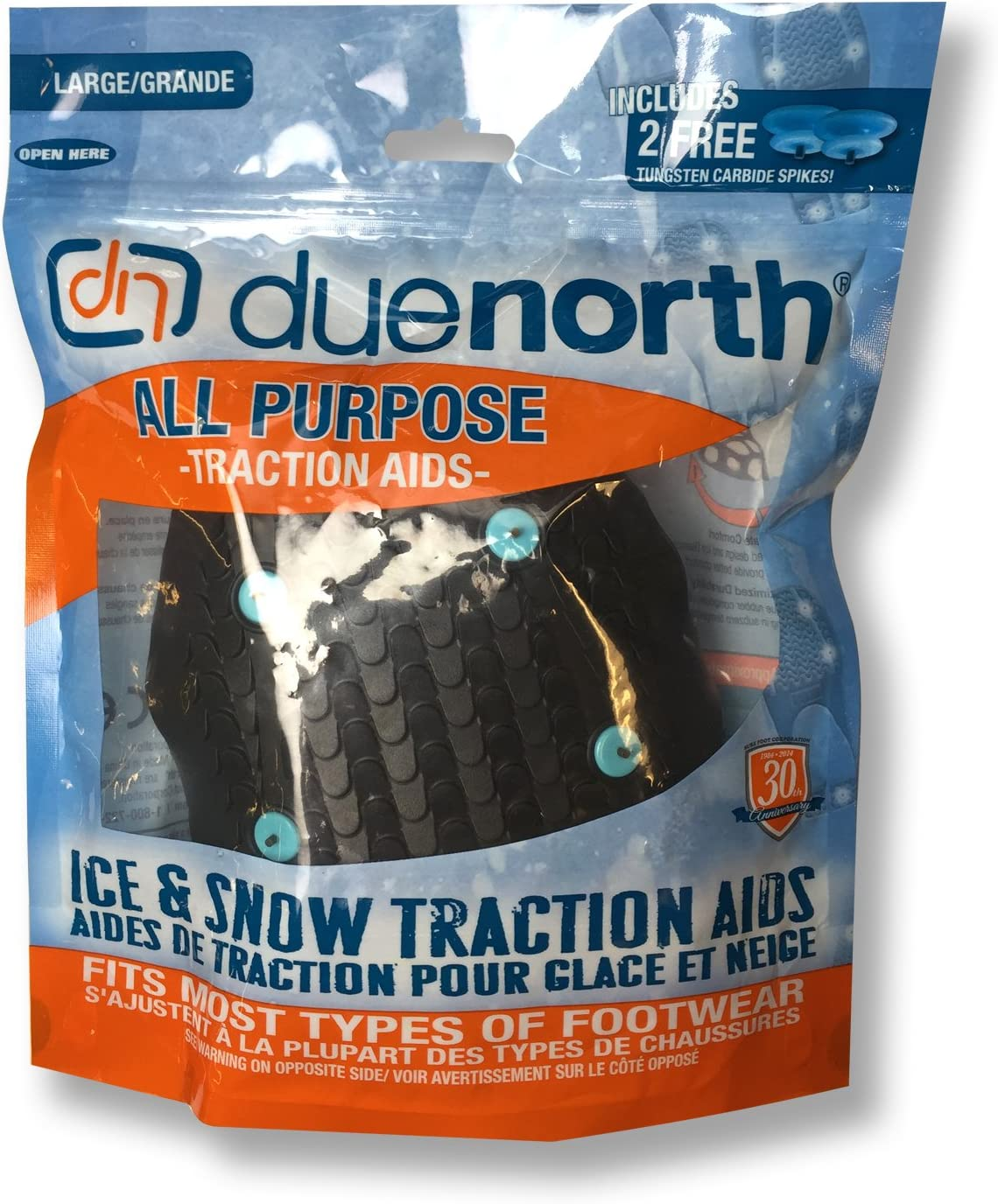 Due North All Purpose Traction Aid for Snow and Ice, Medium