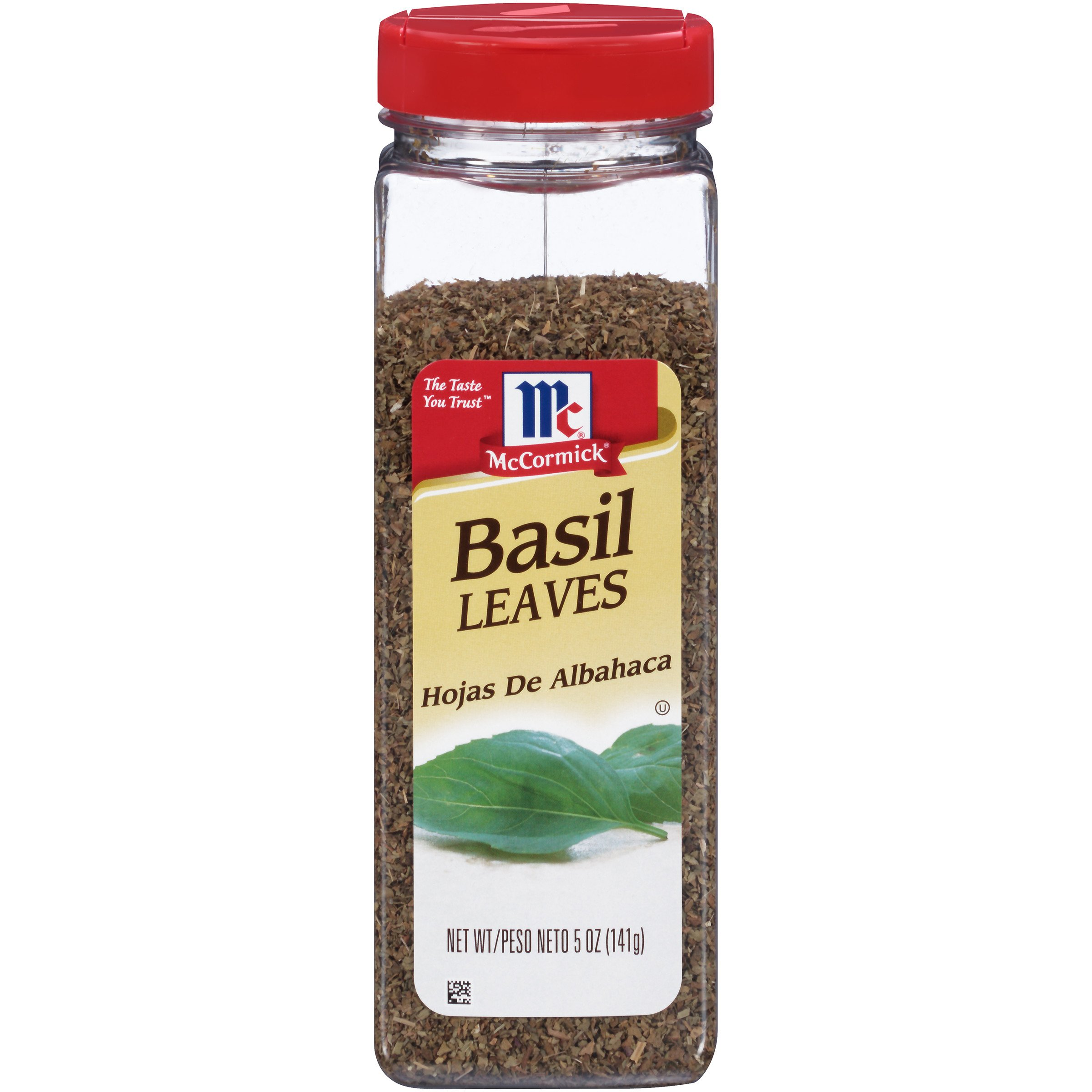 McCormick Basil Leaves, Dried Basil, 5 oz