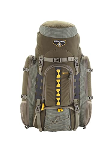 tenzing tz 6000 internal frame hunting pack loden green largex large