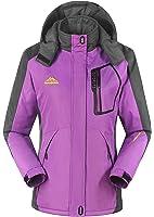 iLoveSIA Women's Waterproof Mountain Jacket Fleece Windproof Outdoor Coat