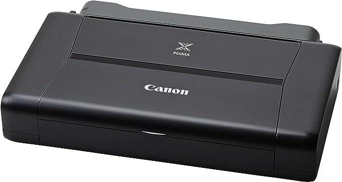 Canon PIXMA iP110 Akku- Impresora de tinta portátil (9.600 x 2.400 dpi, USB, WLAN, Pixma Cloud-Link, Apple AirPrint), negro: Canon: Amazon.es: Electrónica