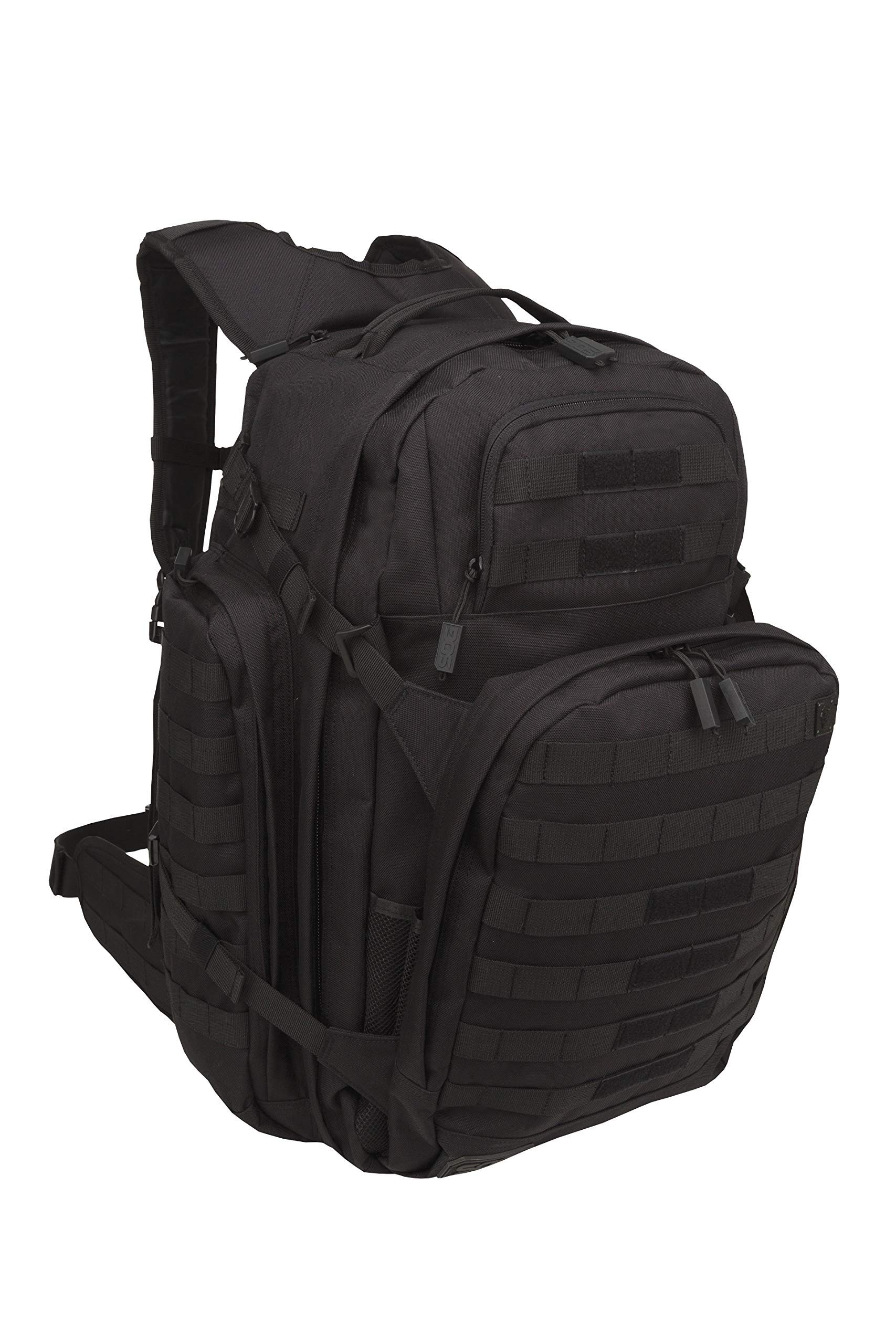 SOG Barrage Tactical Internal Frame Backpack, 64.3-Liter Storage, Black by SOG