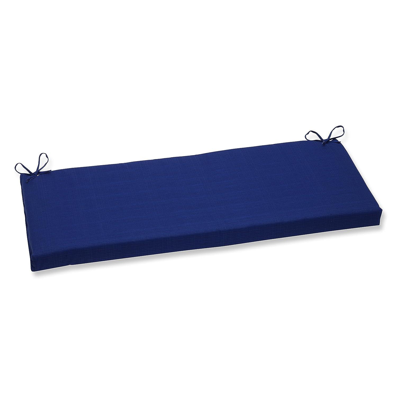 Pillow Perfect Indoor/Outdoor Fresco Bench Cushion, Blue