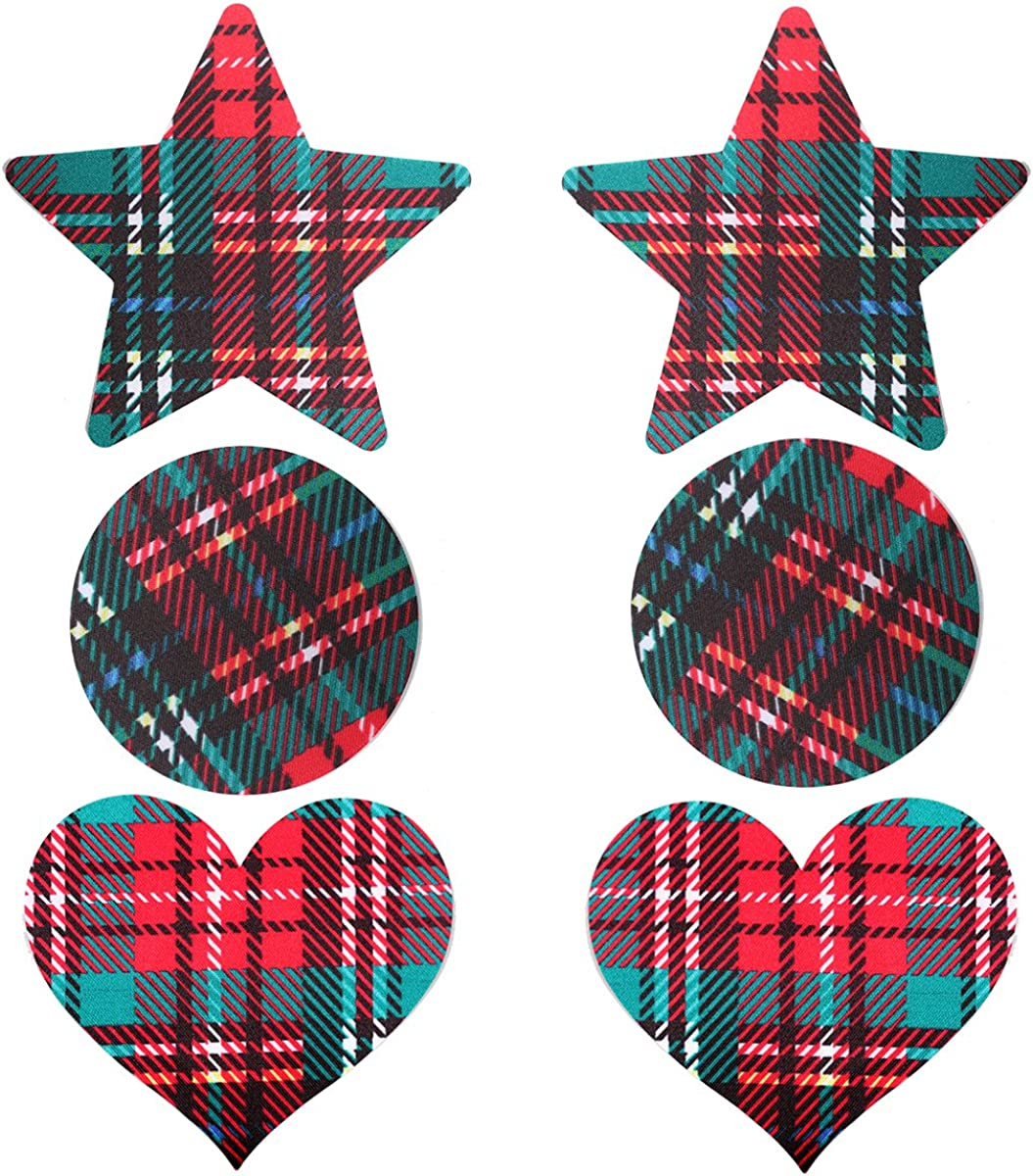 Ypser St Patrick s Day Nipple Covers Satin Pasties Disposable Self Adhesive Bra Pad Stickers