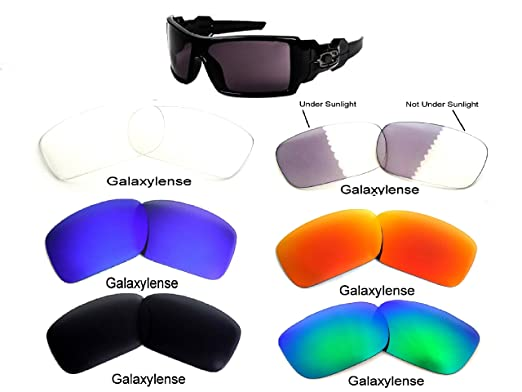 8d57213193 Galaxy Replacement Lenses For Oakley Oil Drum Sunglasses 6 Pairs Special  Offer!