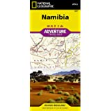 National Geographic Adventure Travel Map Namibia Africa (National Geographic Adventure Map)