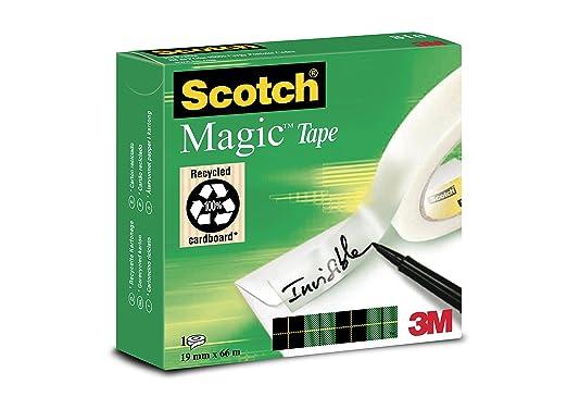 27 opinioni per Scotch Magic Type Nastro Adesivo, 19 mm x 66 m, 1 Pezzo