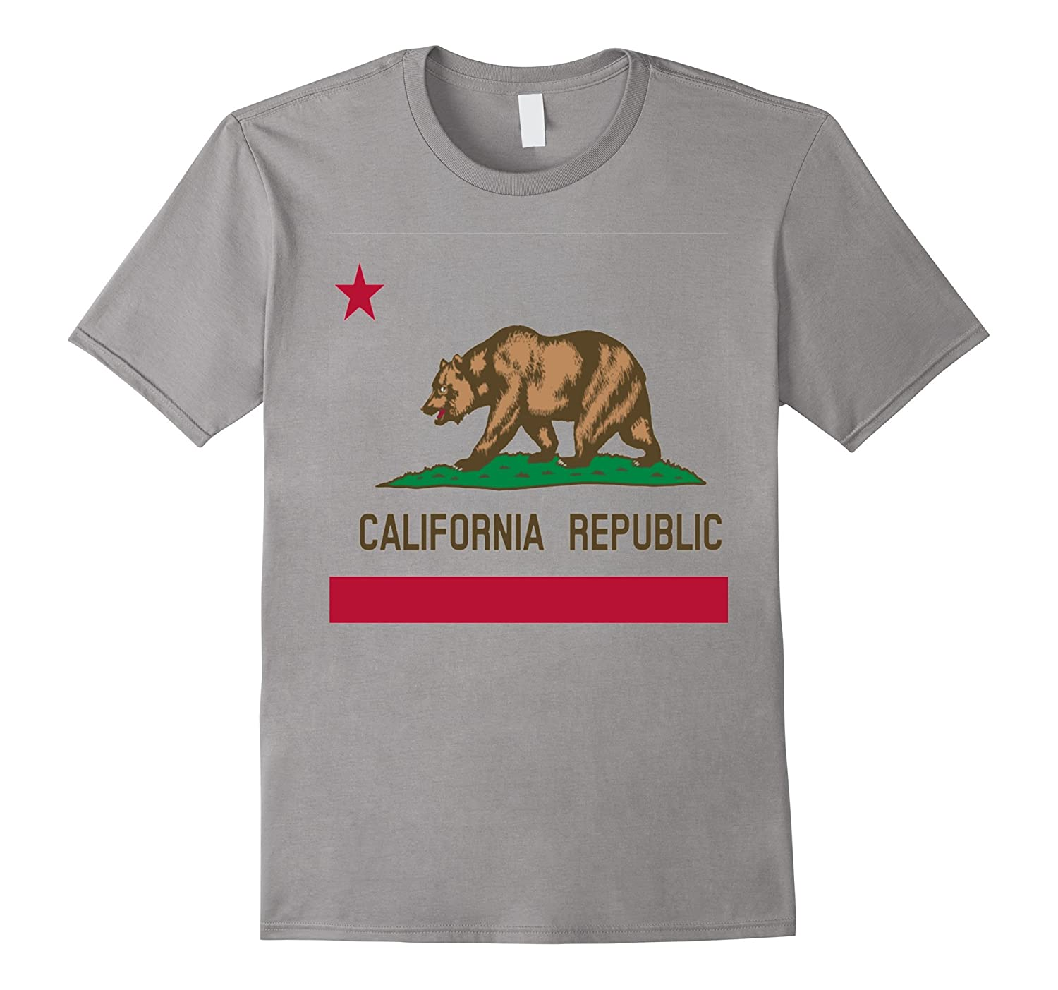 California Republic State Flag T-Shirt-RT