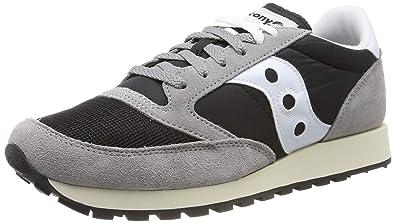 online store f664d 7c2da Saucony Jazz Original Vintage, Sneakers Basses Homme, Gris (Grey Black White