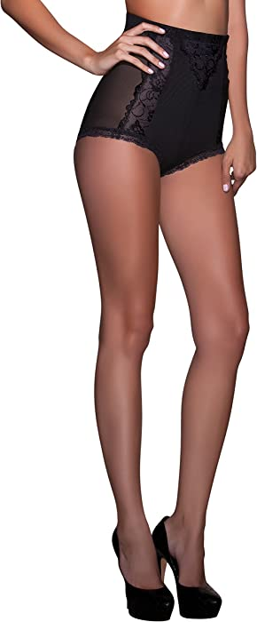 5e56436025e1d Scarlet Kiss Designer Slow Burn High Waist Signature Shapewear Boyshort  Brief