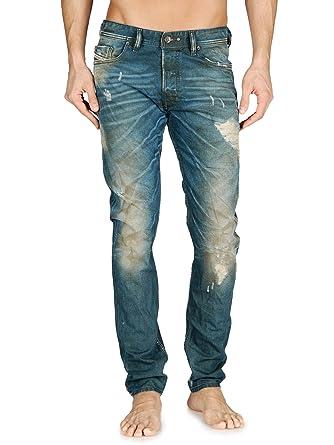 60785137 Diesel Jeans Tepphar 68Z Skinny Fit Tapered 0068Z: Amazon.co.uk: Clothing