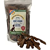 Green Butterfly Brands Organic Grain Free Dog Treats – Made in USA Only – All Natural, Meaty Beef Sticks – Premium Slow Roast