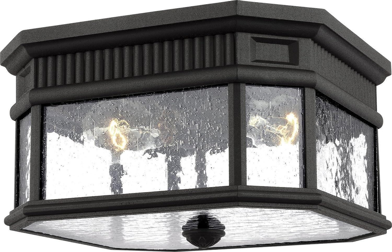 Amazon com feiss ol5433bk cotswold lane outdoor flush mount ceiling
