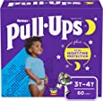 Pull-Ups Night-Time Boys' Training Pants, 3T-4T, 60 Ct