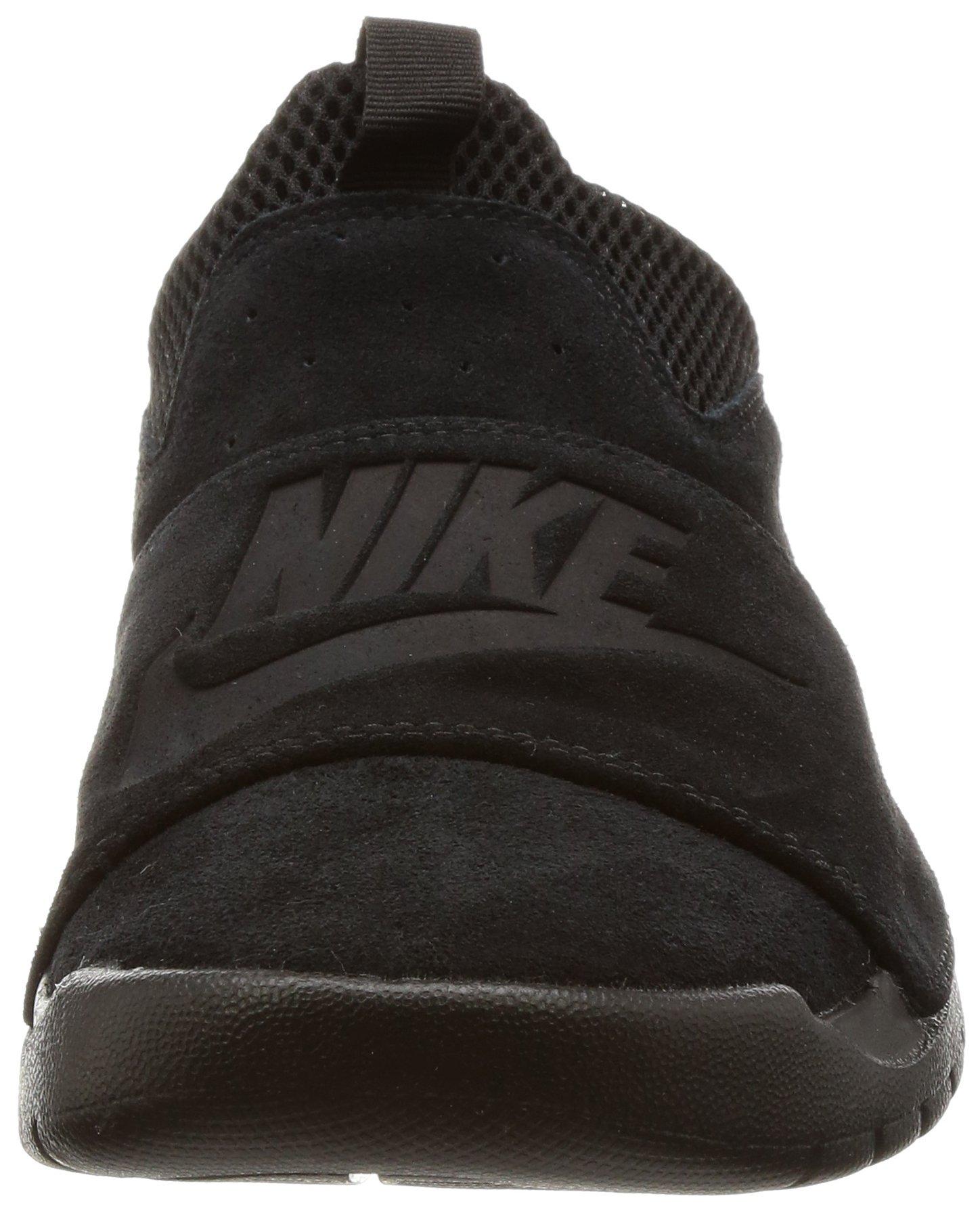 Nike BENASSI SLP Mens fashion-sneakers 882410-003_9.5 - BLACK/BLACK-BLACK by NIKE (Image #4)
