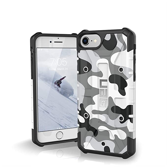 UAG iPhone 8/iPhone 7/iPhone 6s [4.7-inch Screen] Pathfinder SE Camo Feather-Light Rugged [Arctic] Military Drop Tested iPhone Case