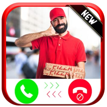 Amazon com: Instant Real Live Fake Call From Pizza Delivery