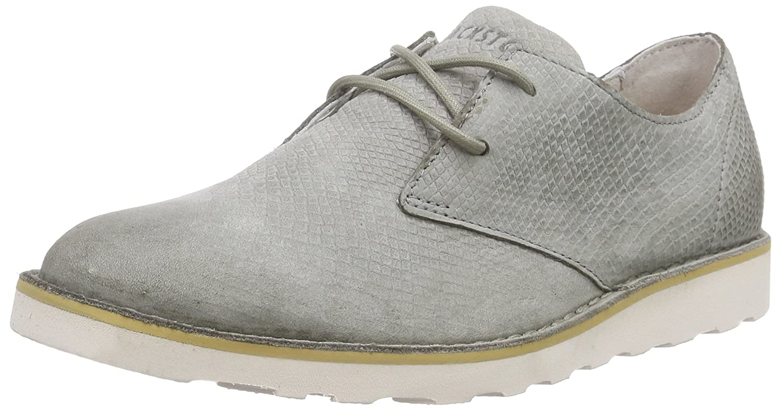 Blackstone Ll69 - Zapatos de Cordones Derby Mujer 40 EU|Gris - Gris