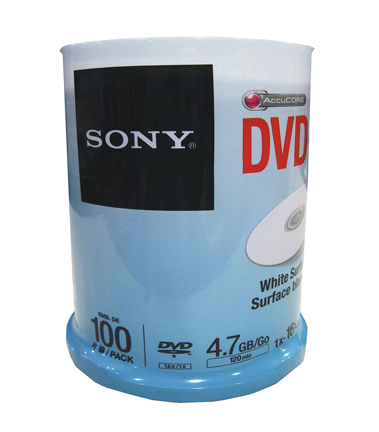 Blank Media Buy Online At Low Prices In India Kaset Dvd Rw Sony Printable White Surface Pack Of 100jar 100dmr47wp