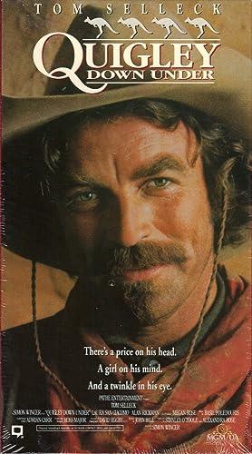 Quigley der Australier [Alemania] [VHS]: Amazon.es: Tom ...